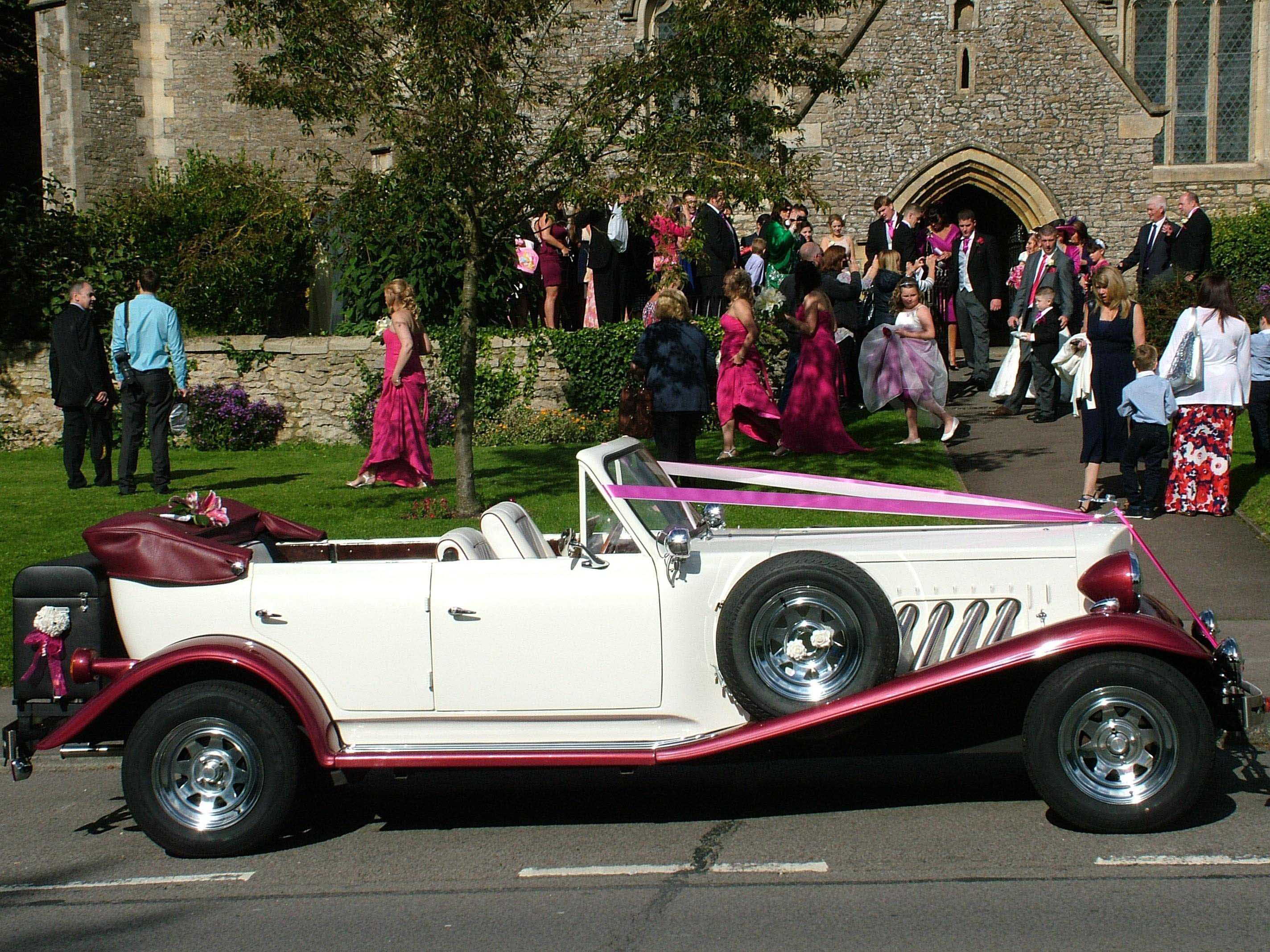 wedding car swindon Beauford convertible - Wedding car hire near ...