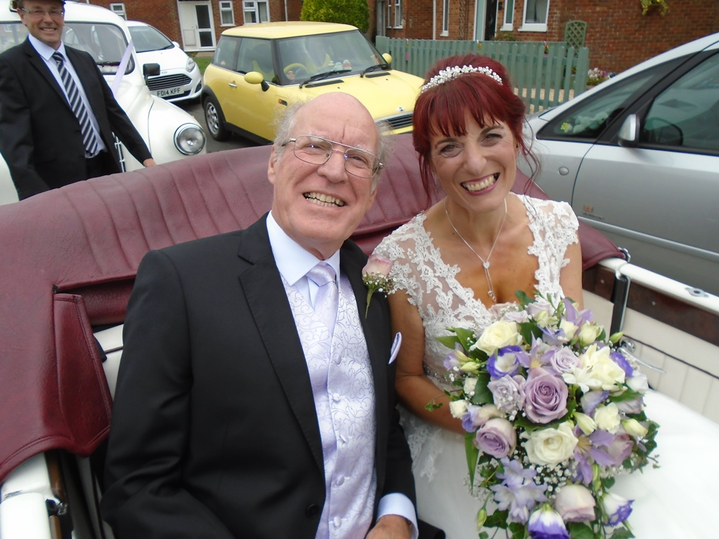 Sue Her Father In Beauford Wedding Car